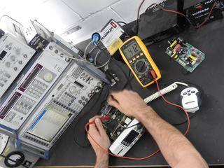 VHF or trunking radio repair with full communication test repair solutions