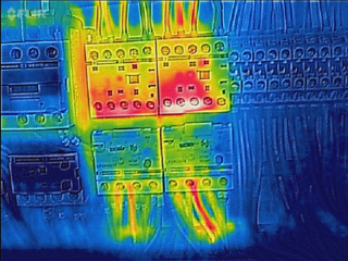 flir thermal image of contactor